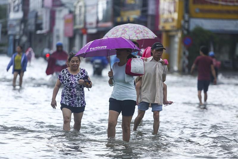 Thừa Thiên - Huế, Quảng Trị nước chưa kịp rút đã tái ngập - ảnh 2