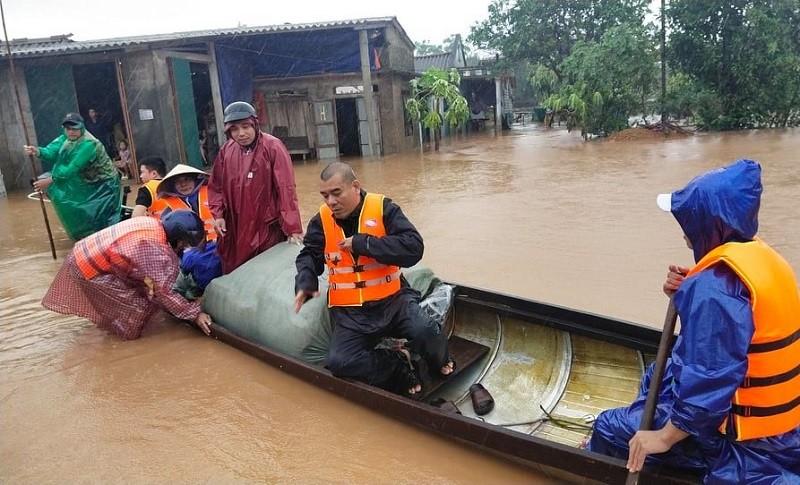 Thừa Thiên - Huế, Quảng Trị nước chưa kịp rút đã tái ngập - ảnh 1