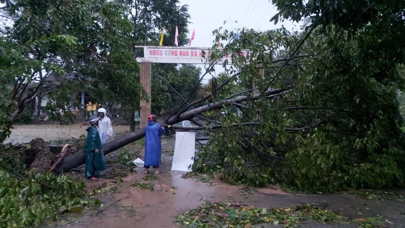 Hàng loạt ngôi nhà huyện miền núi Thừa Thiên-Huế tốc mái - ảnh 3