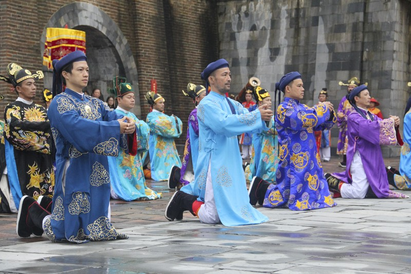 Tái hiện lễ ban lịch của triều Nguyễn - ảnh 2