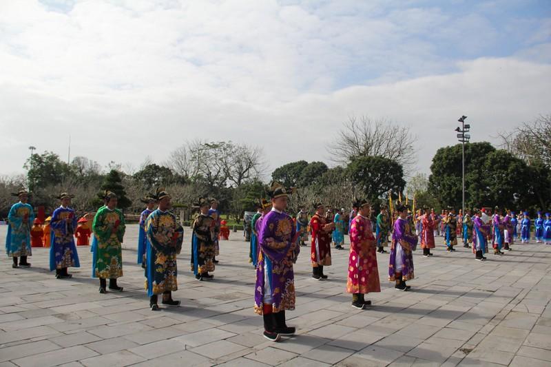 Huế tái hiện lộng lẫy lễ Nguyên đán triều Nguyễn  - ảnh 3