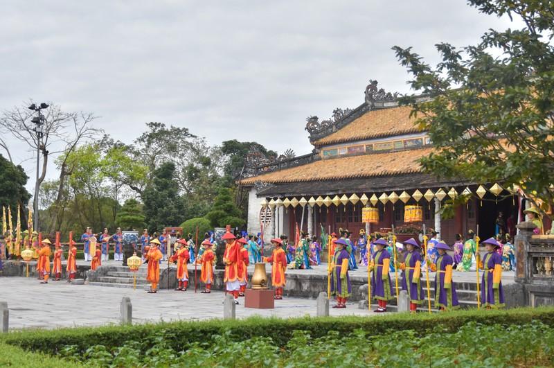 Huế tái hiện lộng lẫy lễ Nguyên đán triều Nguyễn  - ảnh 1
