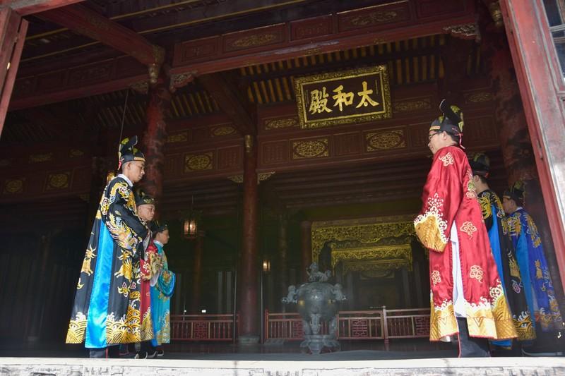 Huế tái hiện lộng lẫy lễ Nguyên đán triều Nguyễn  - ảnh 2
