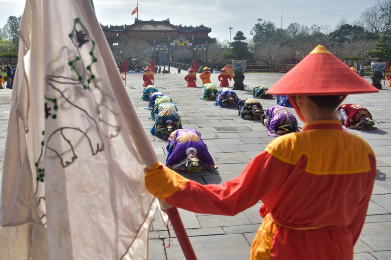 Huế tái hiện lộng lẫy lễ Nguyên đán triều Nguyễn  - ảnh 8