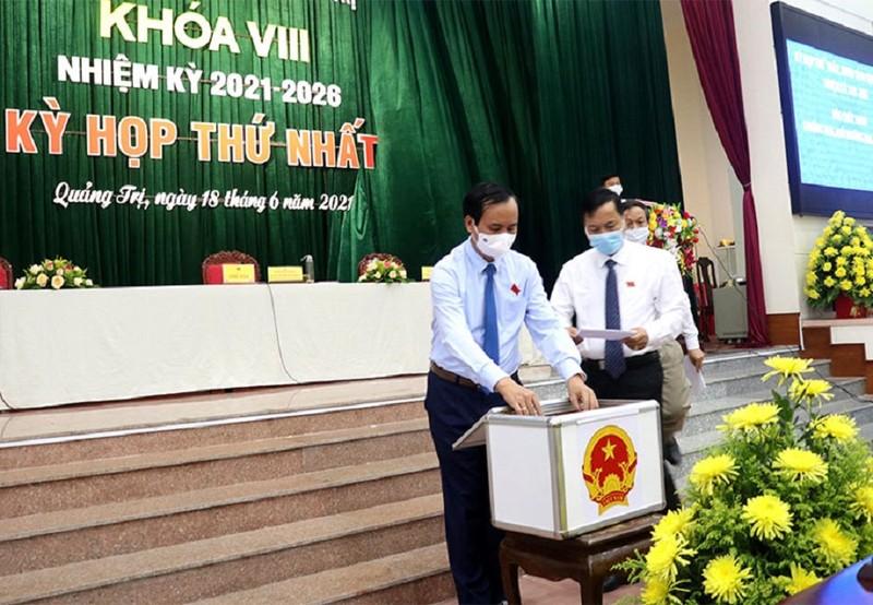 Quảng Trị bầu lãnh đạo HĐND, UBND nhiệm kỳ 2021-2026 - ảnh 1