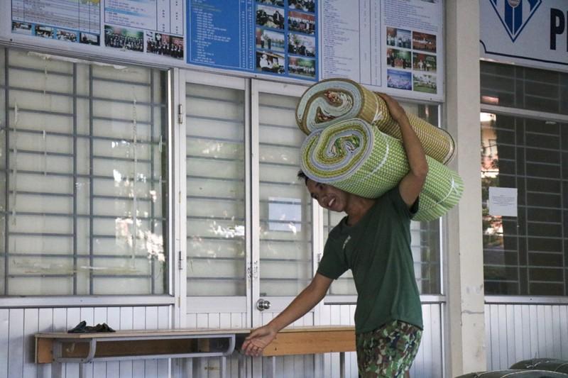 Huế gấp rút chuẩn bị cơ sở vật chất tại các trường học để làm khu cách ly  - ảnh 4