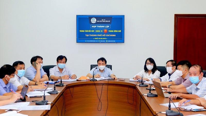 Bệnh viện Trung ương Huế vào TP.HCM xây dựng trung tâm điều trị bệnh nhân nặng - ảnh 1