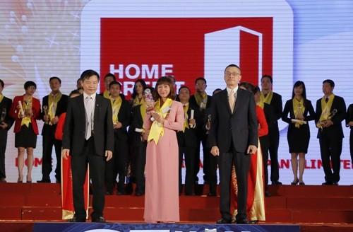 Home Credit ba năm liên tiếp nhận giải Rồng Vàng - ảnh 1