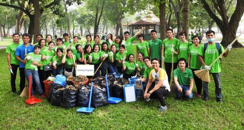 Suntory PepsiCo Việt Nam và nỗ lực bảo vệ môi trường - ảnh 1