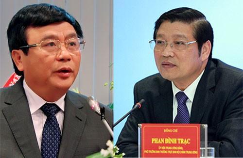 Ông Phan Đình Trạc và Nguyễn Xuân Thắng vào Ban bí thư  - ảnh 1