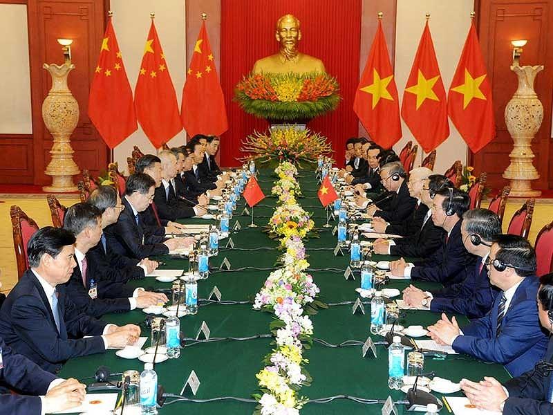 3 trọng tâm tăng cường trong hợp tác Việt-Trung - ảnh 1