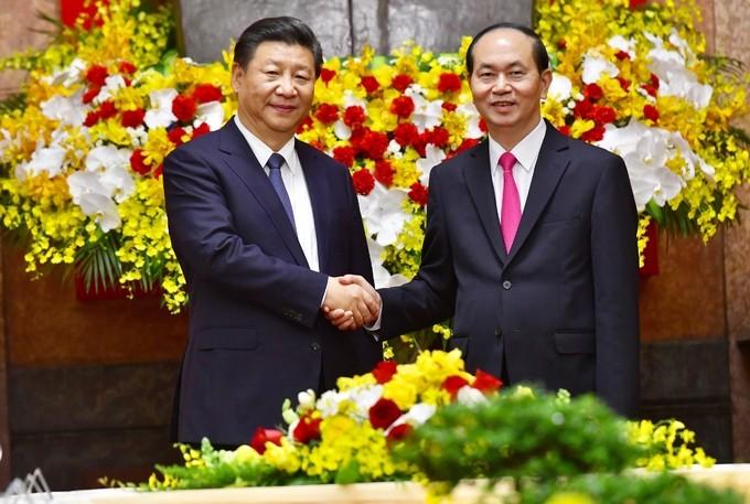 Chủ tịch Trung Quốc Tập Cận Bình rời Hà Nội  - ảnh 1