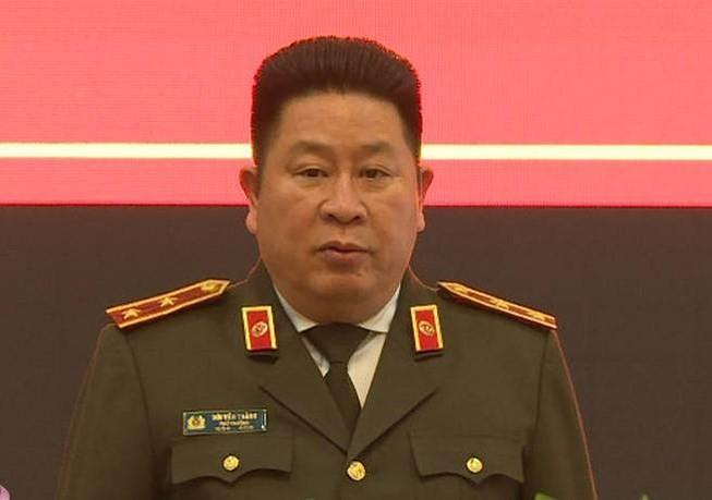 Tướng Bùi Văn Thành bị cách chức thứ trưởng Bộ Công an  - ảnh 1