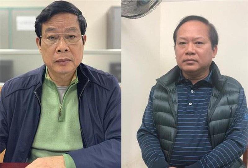 Mức án nào chờ đợi hai cựu bộ trưởng nhận hối lộ? - ảnh 1