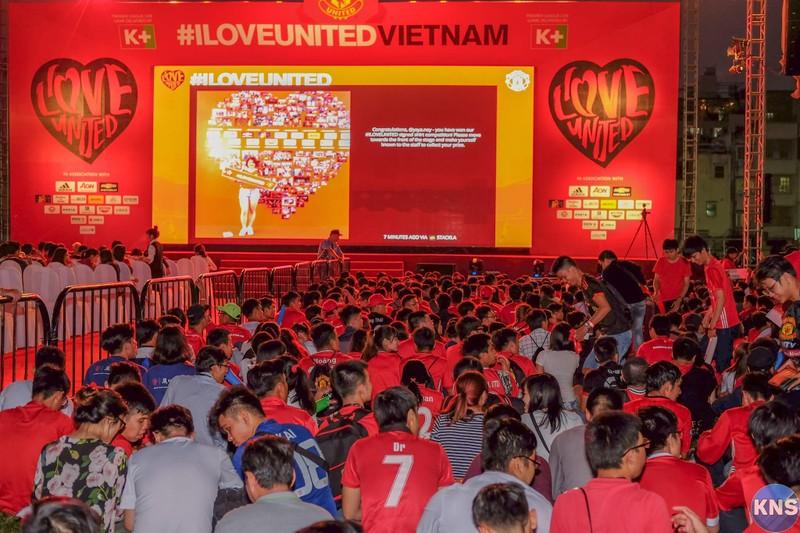 3.000 fan MU 'quẩy' hết mình tại sự kiện ILoveUnited - ảnh 2