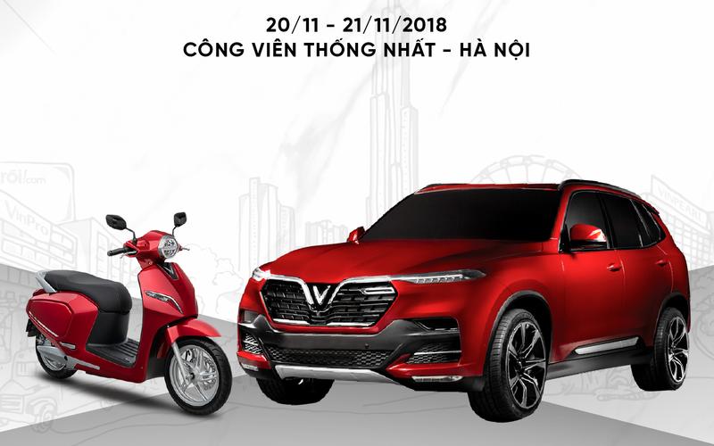 Trực tiếp lễ ra mắt 3 mẫu xe của VinFast tại Hà Nội - ảnh 1