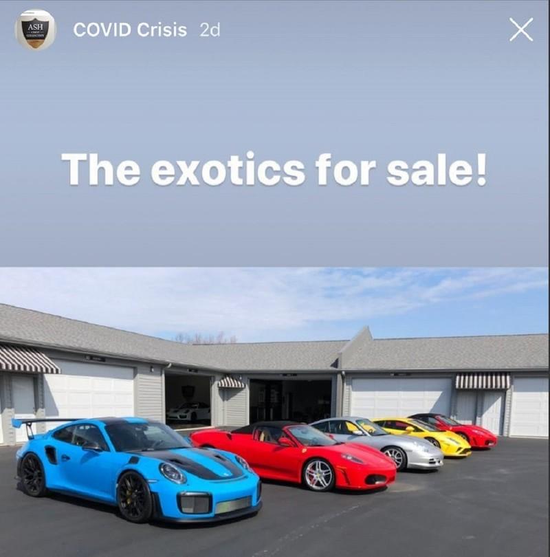 Đại gia bán 7 siêu xe để ủng hộ người bị ảnh hưởng COVID-19 - ảnh 1