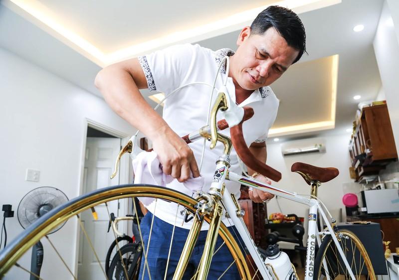 Quý 'gà' sở hữu bộ siêu xe đạp độc nhất Việt Nam - ảnh 3