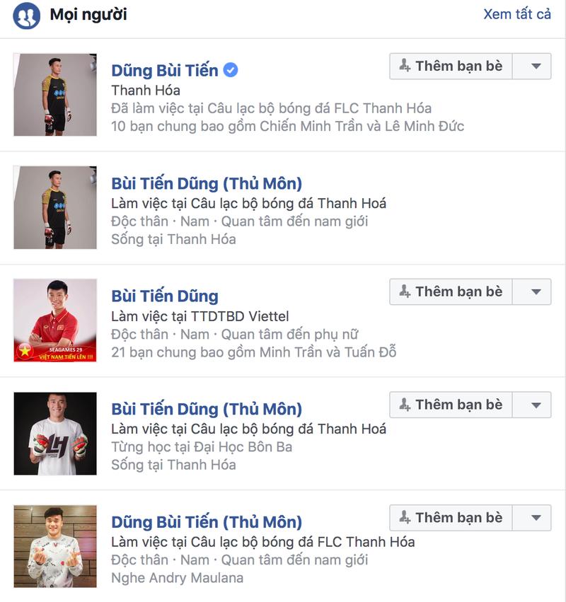 Tuyển thủ U-23 VN được Facebook định danh tài khoản - ảnh 2