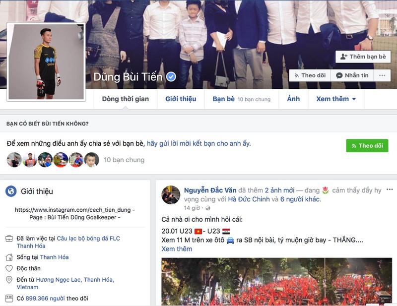 Tuyển thủ U-23 VN được Facebook định danh tài khoản - ảnh 3