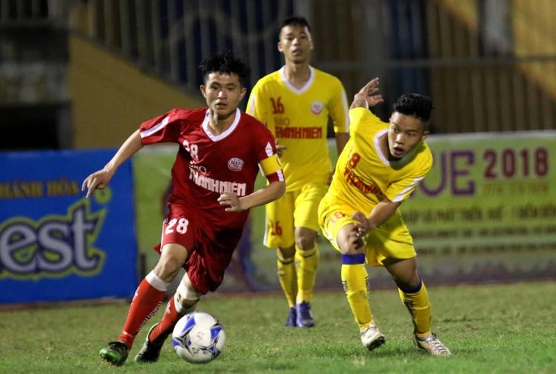 U-19 SL Nghệ An đổ gục vì mất điểm phút cuối trận - ảnh 1