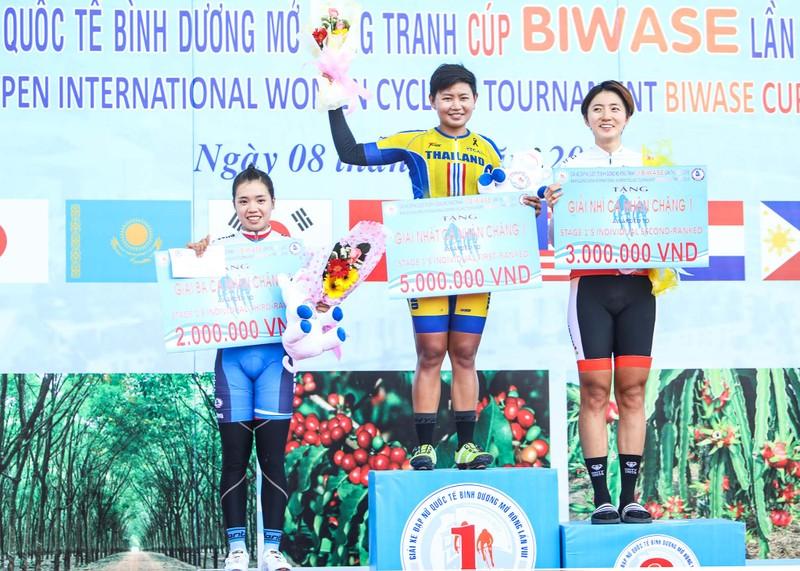Vắng Nguyễn Thị Thật, Jutatip chiến thắng giải Biwase - ảnh 9