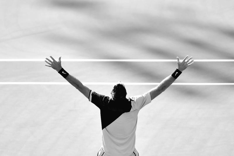 Hạ gục Federer, Del Potro lần đầu vô địch Indian Wells - ảnh 1