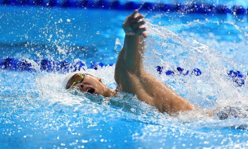 Kình ngư Nguyễn Huy Hoàng xuất thần đoạt HCĐ cự ly 800 m tự do - ảnh 1