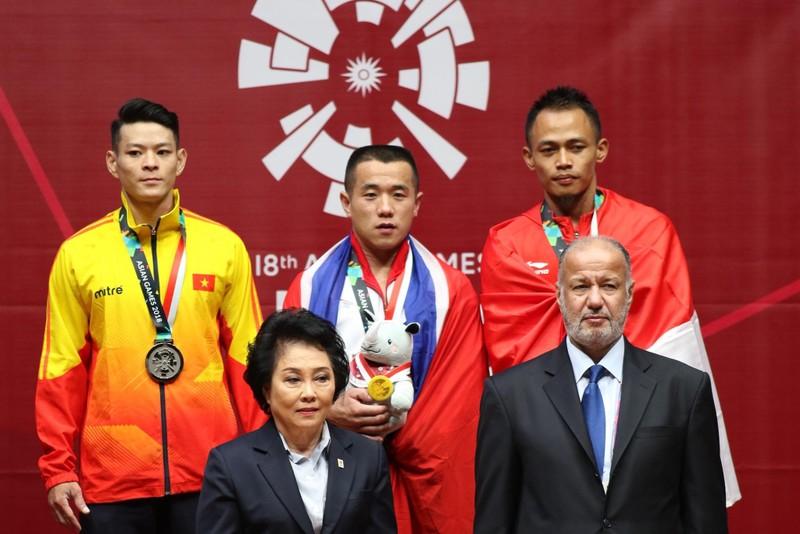 Kém Om Yun Chol 7 kg, Thạch Kim Tuấn đoạt HCB Asiad 18 - ảnh 4