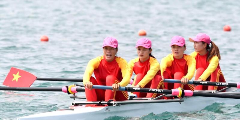 Rowing giành HCV Asiad 18 đầu tiên cho thể thao Việt Nam - ảnh 4