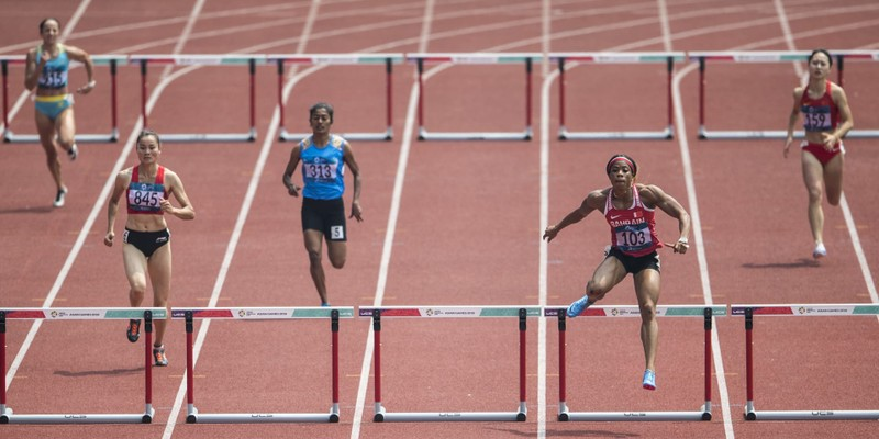 Quách Thị Lan phá kỷ lục, tranh chung kết cự ly 400 m vượt rào - ảnh 1