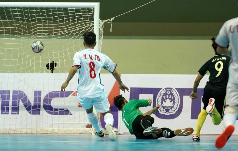 Futsal Việt Nam dừng bước sau loạt 'đấu súng' sinh tử - ảnh 1