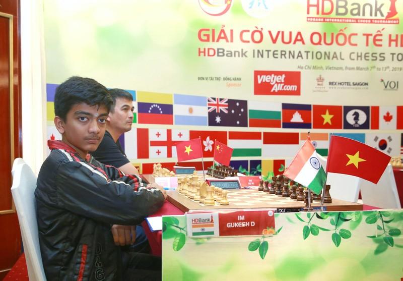 Đại kiện tướng trẻ thứ 2 thế giới dẫn đầu giải cờ vua HDBank - ảnh 1
