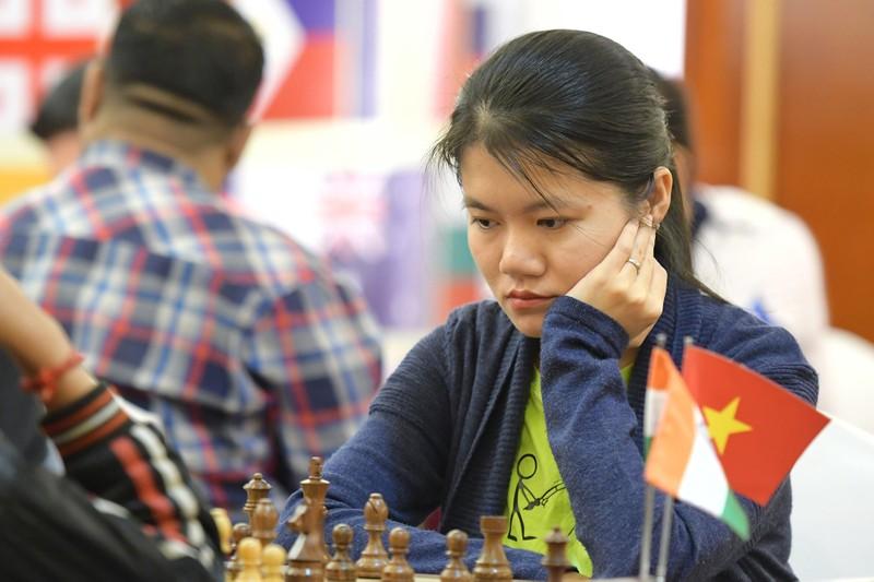 Đại kiện tướng trẻ thứ 2 thế giới dẫn đầu giải cờ vua HDBank - ảnh 2