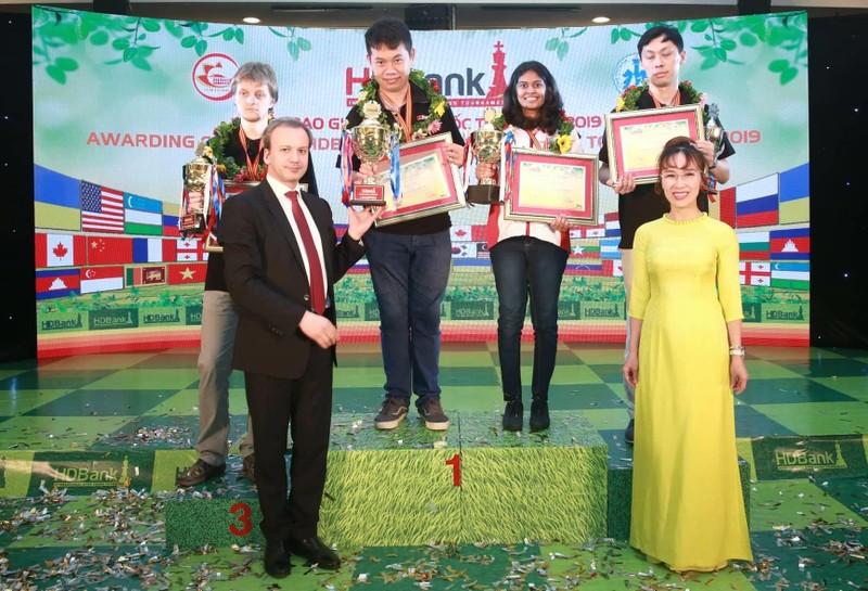 Wang Hao lần hai đăng quang giải cờ vua HDBank 2019 - ảnh 1