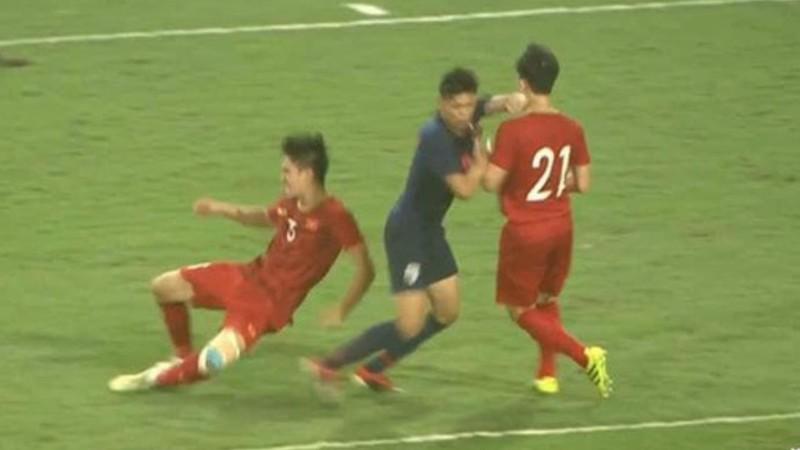 Thái Lan tìm cách 'tẩy thẻ' cho cầu thủ đánh nguội Đình Trọng - ảnh 2