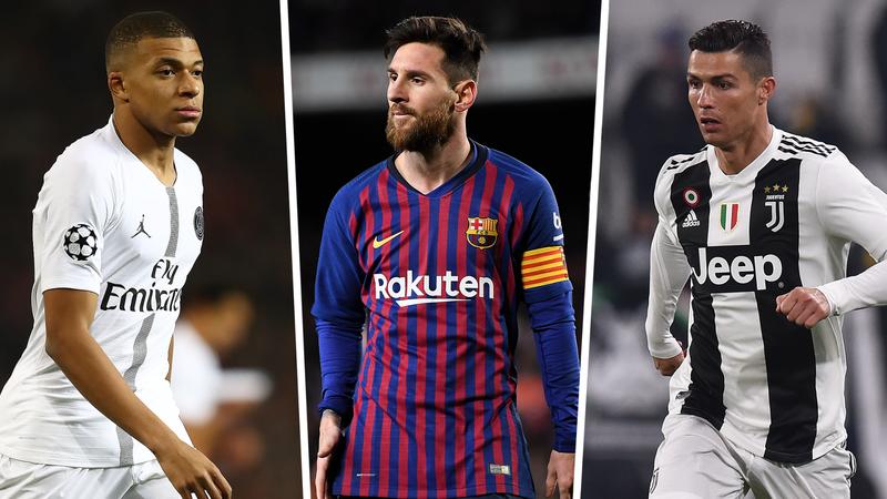 Mbappe, Messi cùng tăng tốc loại Cristiano Ronaldo - ảnh 3