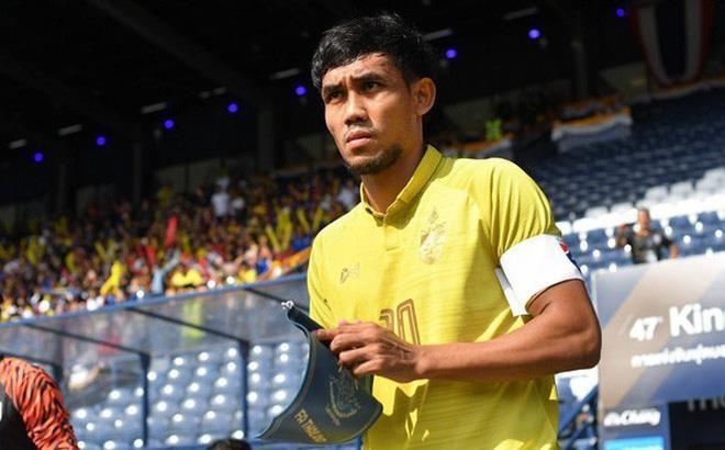 Đội trưởng Thái Lan chán nản với thành tích tại King's Cup - ảnh 1
