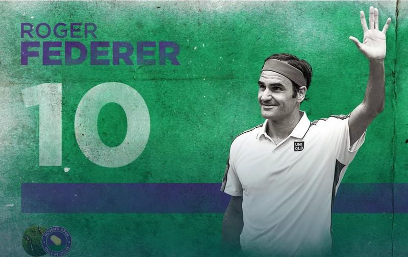 Đánh bại Goffin, Federer lập kỷ lục vô địch mặt sân cỏ - ảnh 2