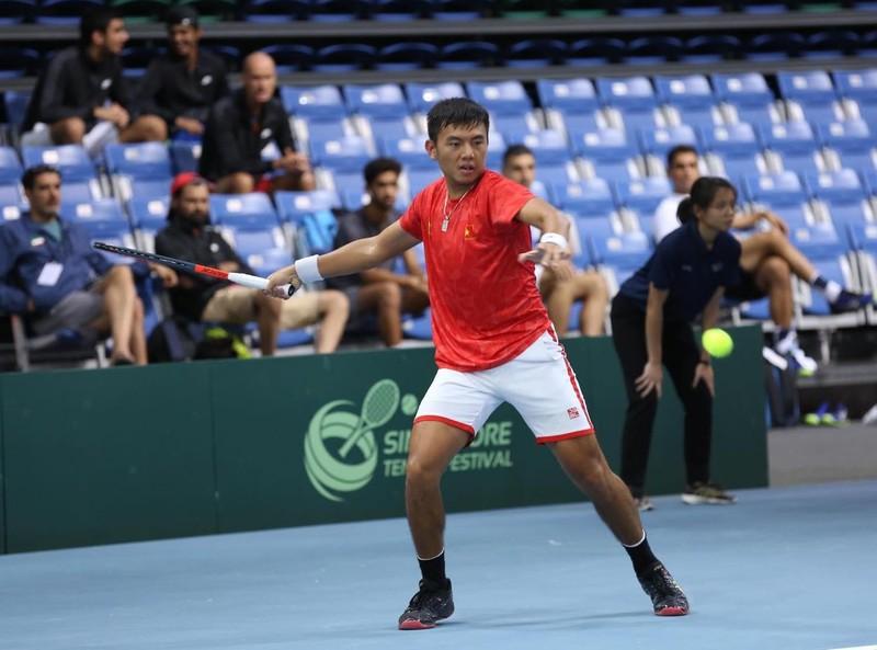 Lý Hoàng Nam cùng tuyển Việt Nam thăng hạng Davis Cup - ảnh 2