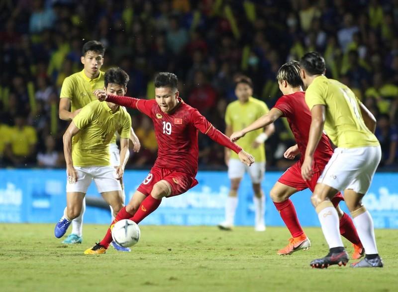 Việt Nam vào bán kết AFF Cup; đã có bản quyền VL World Cup - ảnh 1