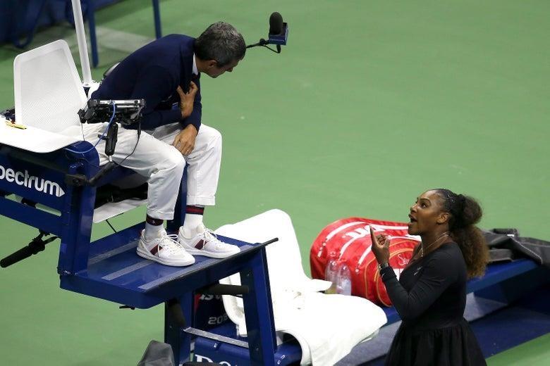 Mỹ Open đổi luật sau cuộc 'khẩu chiến' giữa Serena và Ramos - ảnh 1