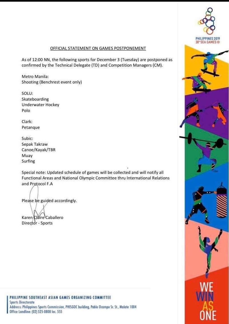 Xe đạp, quần vợt hoãn, dời lịch đấu vì bão siêu Kammuri - ảnh 2