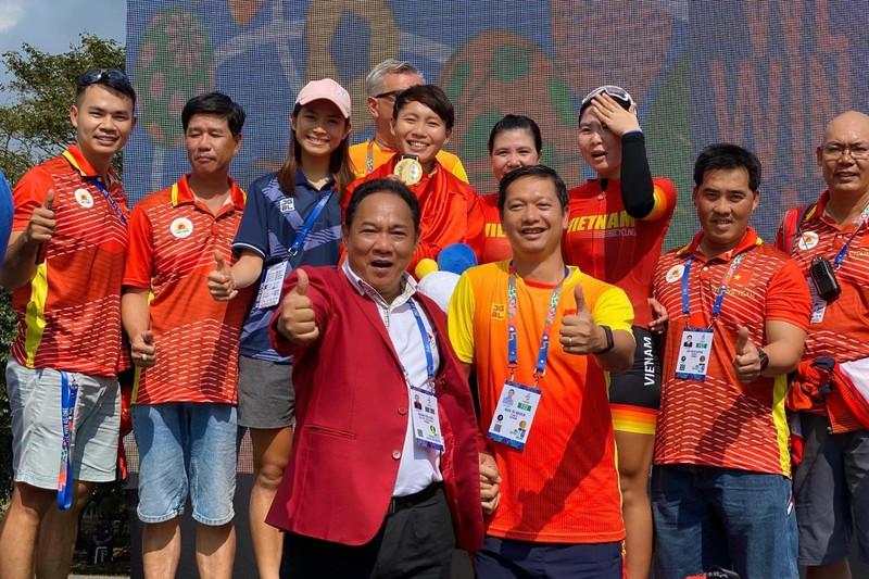 Tay đua Nguyễn Thị Thật bảo vệ thành công HCV xe đạp SEA Games - ảnh 3