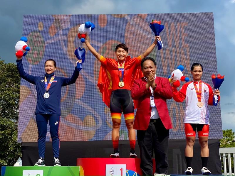 Tay đua Nguyễn Thị Thật bảo vệ thành công HCV xe đạp SEA Games - ảnh 2