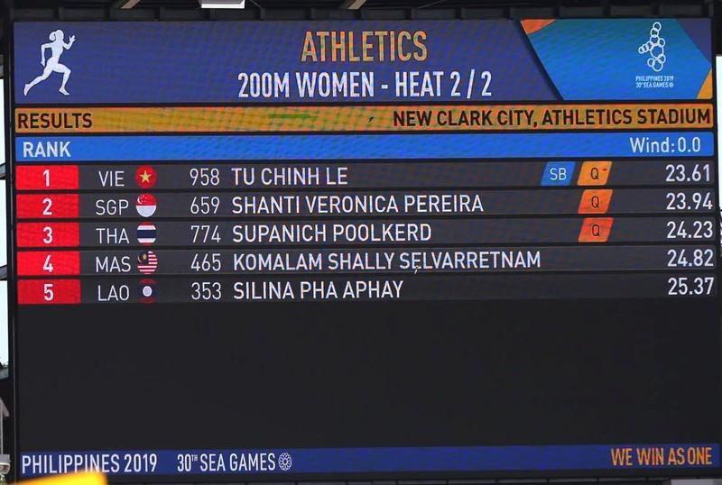 Knott phá kỷ lục 200 m, 'ngôi hậu' của Lê Tú Chinh lung lay - ảnh 2