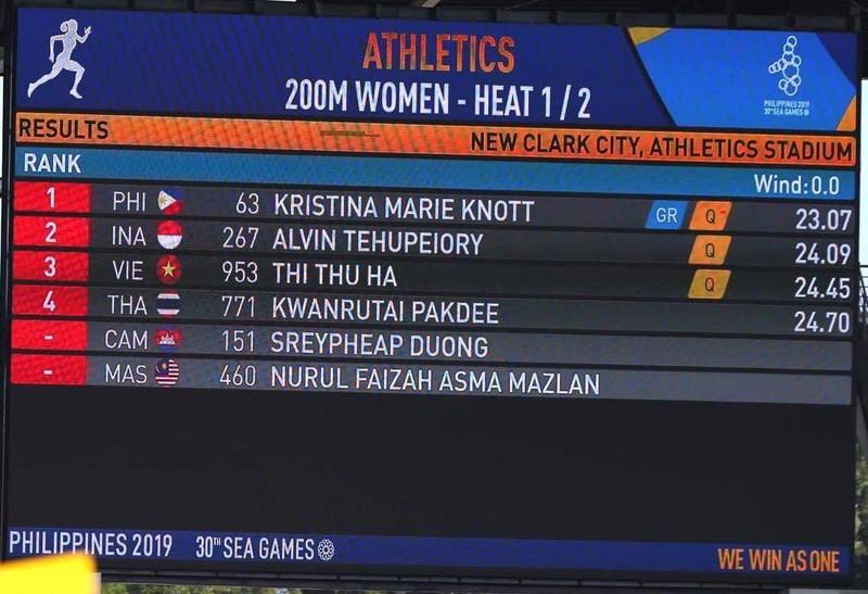 Knott phá kỷ lục 200 m, 'ngôi hậu' của Lê Tú Chinh lung lay - ảnh 3