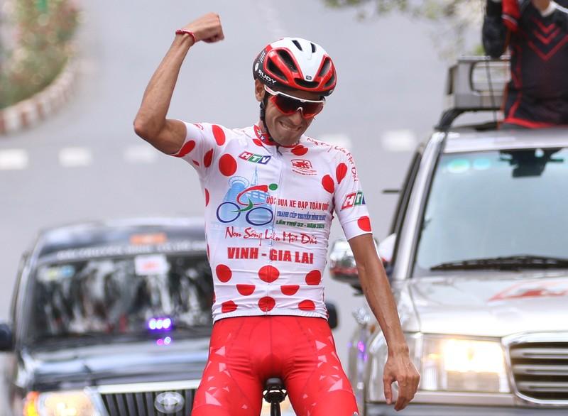 """Đội xe đạp TP Hồ Chí Minh đoạt cú """"ăn 5"""" sau đỉnh đèo Prenn - ảnh 3"""