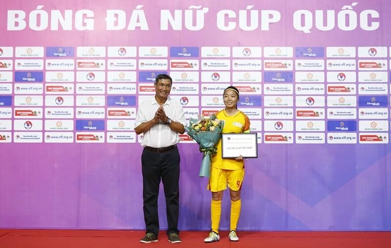 Đội bóng nữ TP.HCM thâu tóm danh hiệu Cúp quốc gia - ảnh 3