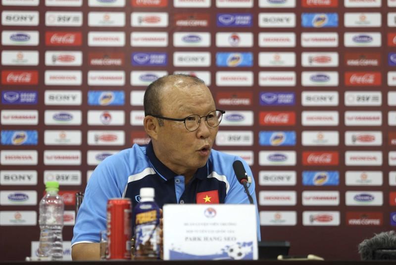 Ông Park: Ba trận đấu vòng loại World Cup là quan trọng nhất  - ảnh 1